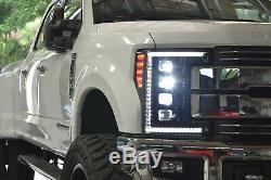 Morimoto XB LED Plug & Play 5500K Headlights For 2017-2019 Ford Super Duty F-250