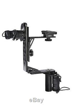 Movo MGB-5 Aluminum Motorized 360° Pan / Tilt Gimbal Head for Tripods or Jibs