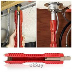 Multifunction Faucet Sink Installer Wrench Plumbing Tool Water Pipe Spanner f1