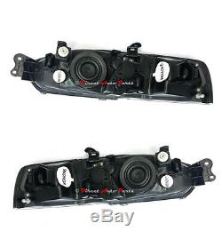 NEW HEAD LIGHT LAMP for MITSUBISHI LANCER MIRAGE CE COUPE 2DR 1998 2003 PAIR