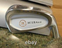 NEW Miura Golf PP-9003 Straight neck Iron heads 6-PW Cavity Backs Japan