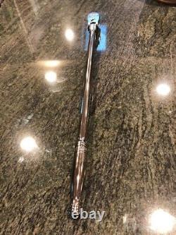NEW Snap-on 3/8 drive 17 EXTRA Long handled FLEX Head Ratchet FLLF80 Dual 80