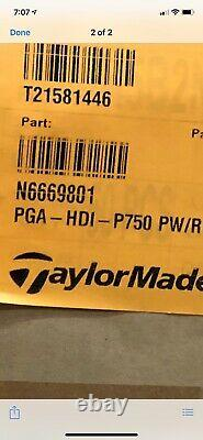 NEW Taylormade TOUR ISSUE P750 Irons 5-PW (SET HEADS ONLY) RARE P-750 Head. 355