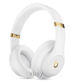 NIP Beats by Dr. Dre Studio 3 Wireless Bluetooth Head Phones (White) Authentic
