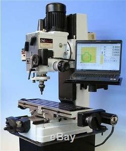 New Geared Head Variable Speed spindle Square Column CNC Milling Machine
