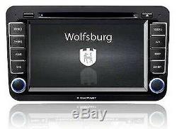 New Genuine Vw Wolfsburg Satellite Navigation CD Dab+ Ready Radio Head Unit