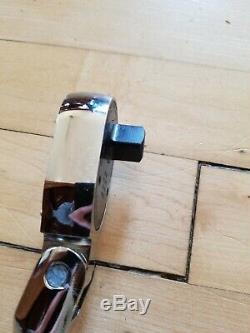 New Snap On SHLF80A 1/2 GREEN Flex Head Soft Grip Ratchet FREE PRIORITY