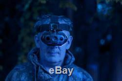 Nightfox 119V Head Mounted Night Vision Goggles 1x Magnification Infrared IR