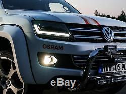 OSRAM LEDriving VW Amarok Full LED Scheinwerfer Black Edition (Halogen Upgrade)