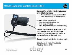 PMLN7131B Motorola MotoTRBO OEM Handheld Control Head (HHCH) XPR5550/e New