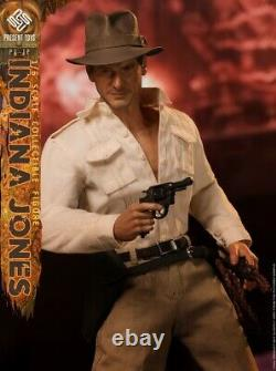 PRESENT TOYS 16 Raider Jones Indiana Jones Harrison Ford Action Figure PT-sp12