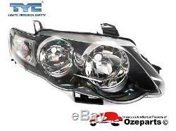 Pair LH+RH Head Light Lamp For Ford Falcon FG Series 1 0811 XR6 XR8 XR Turbo