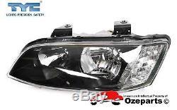 Pair LH+RH Head Light Lamp Halogen For Holden Commodore VE s2 SS SV6 1013