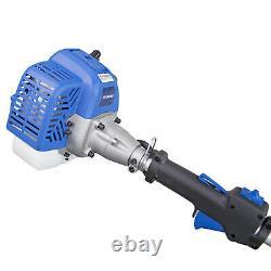 Petrol Grass Trimmer Strimmer 26cc Lightweight Split Shaft 38cm Cut Bump Head