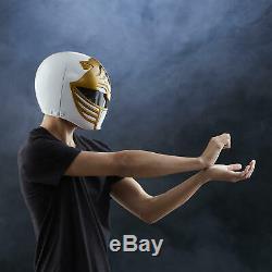 Power Rangers Lightning Collection White Ranger Helmet by Hasbro New