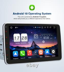 Pumpkin 10.1 Double Din Android 10 Car Stereo Head Unit Bluetooth GPS DAB+ WiFi
