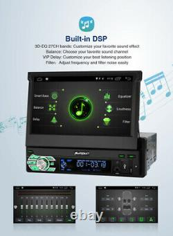 Pumpkin Single 1 Din 7Android 10.0 Car Radio Stereo Head Unit GPS Navi USB DAB+