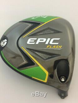 RH Callaway EPIC FLASH LD 5 Degree Adjustable Head Only NEW Long Drive Head