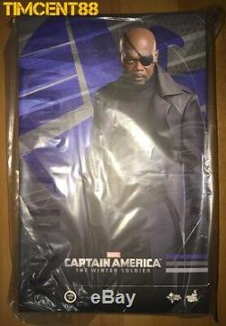 Ready! Hot Toys MMS315 Captain America The Winter Soldier Nick Fury 1/6 Figure