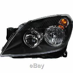 Scheinwerfer Set Satz Opel Astra H Bj. 03/04-12/09 H7+H1+Motoren klar/schwarz