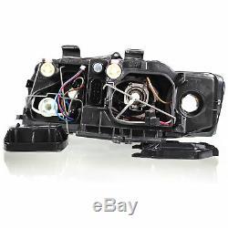Scheinwerfer Set für Audi A4 8E B6 Bj. 00-04 H7+H7 elektr. LWR Limousine Avant