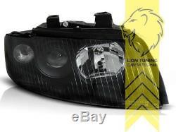 Scheinwerfer für Audi A4 B6 8E Limousine Avant schwarz