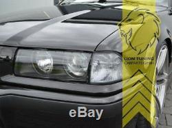 Scheinwerfer für BMW E36 Limo Touring Coupe Cabrio mit DE Linse schwarz