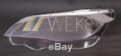 Scheinwerferglas Streuscheibe Set rechts links 5er BMW E60 E61 VFL 03-07