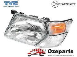 Set 4 Pcs Head Light Corner Lamp For Nissan Patrol GU / Y61 Series 1 19972002