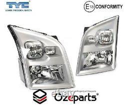 Set / Pair LH Left + RH Right Head Light Lamp For Ford Transit Van VM 20062013