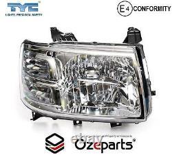 Set / Pair LH+RH Head Light Lamp Chrome For Ford Ranger PJ Ute 20062009