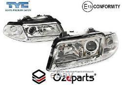 Set / Pair LH+RH Head Light Lamp For Audi A4 B5 19992001 Sedan Wagon
