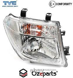 Set / Pair LH+RH Head Light Lamp For Nissan Navara D40 Ute 05/200506/2007