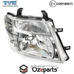 Set Pair LH+RH Head Light Lamp For Nissan Navara D40 VSK Spain Ute 20102015