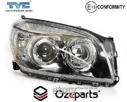 Set / Pair LH+RH Head Light Lamp For Toyota RAV4 30 Series 1 20052008 Black