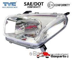 Set / Pair LH+RH Head Light Lamp For Toyota RAV4 ACA 20 Series 1 20002003