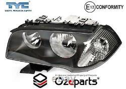 Set Pair LH+RH Head Light Lamp (Halogen) For BMW X3 Wagon E83 Series 1 20042006