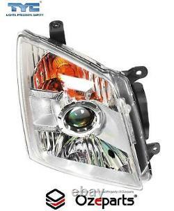 Set Pair LH+RH Head Light Lamp (Projector Type) For Isuzu Dmax D-Max 20062012