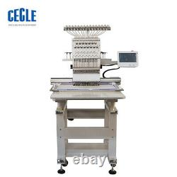 Single Head 12needless Computer Embroidery Machine Multifunctional Three-in-One