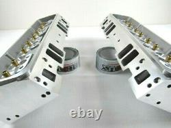 Small Block Chevy 350 383 Aluminum Bare Cylinder head Package DIY Top End Kit