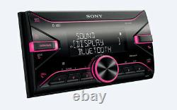 Sony Car/Van Double Din DAB Bluetooth Stereo Head unit Front USB Aux In 4x55W