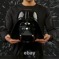 Star Wars The Black Series Darth Vader Premium Electronic HelmetNEW