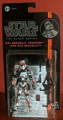 Star Wars The Black Series REPUBLIC TROOPER 3.75 #31 The Old Republic Figure