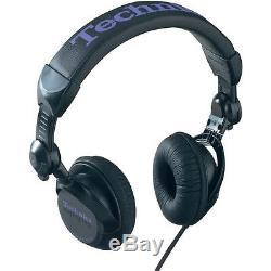Technics RP-DJ 1200 E-K DJ Headphone / Kopfhörer Schwarz Purple Black NEU+OVP