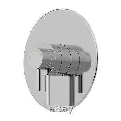 Thermostatic Concentric Concealed Shower Ceiling Mounted Fixed Shower Head