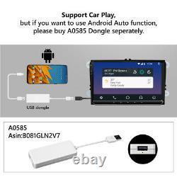 UK Android 10 9 Head Unit Car Stereo GPS Sat Nav DAB+ For VW Golf MK5 MK6 Jetta