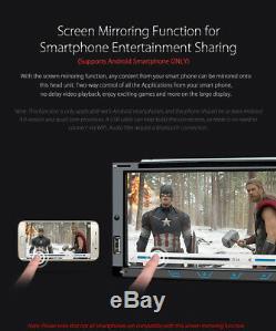 Universal 6.95 Double 2 Din Car Stereo DVD Player Head Unit GPS Sat Nav Radio