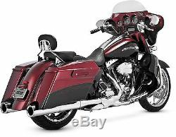 Vance & Hines Power Duals Head Pipes Chrome, Color Chrome 16849