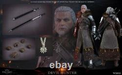 WAR STORY 1/6 Soldier The Devil Hunter White Wolf Soldier Figure Toys WS005 Gift