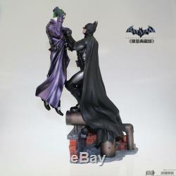 Warner Bros Batman Arkham Origins Statue VS Joker Collectors Edition DC Comic